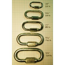 "Quick link, 1/4"", 5 pack"