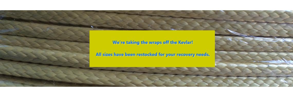 Kevlar's in Stock